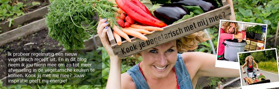 Kook je vegetarisch met mij mee?