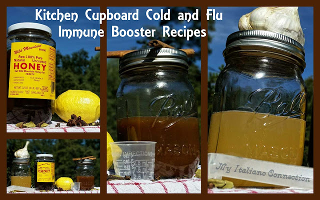 Kitchen Cupboard Cold and Flu Immune Booster Recipes