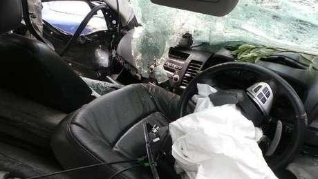 Kendaraan lancer Dul Kecelakaan di Tol Jagorawi