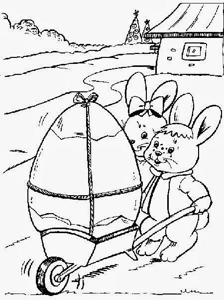 Dibujos de Pascua para Colorear, parte 1