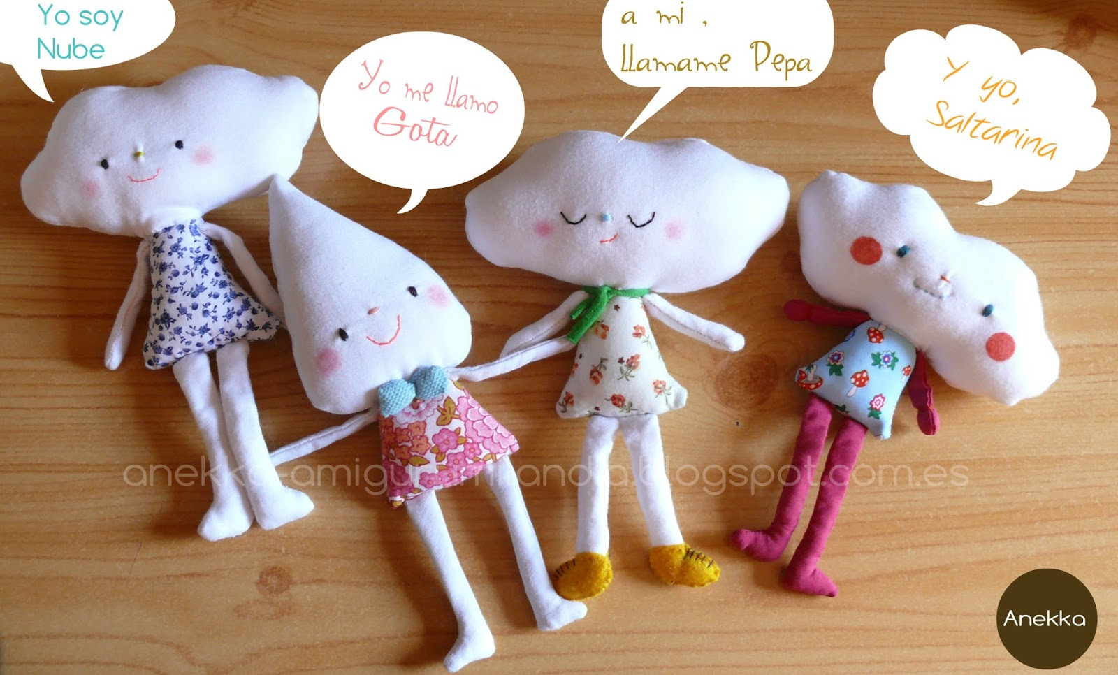 toy doll anekka handmade