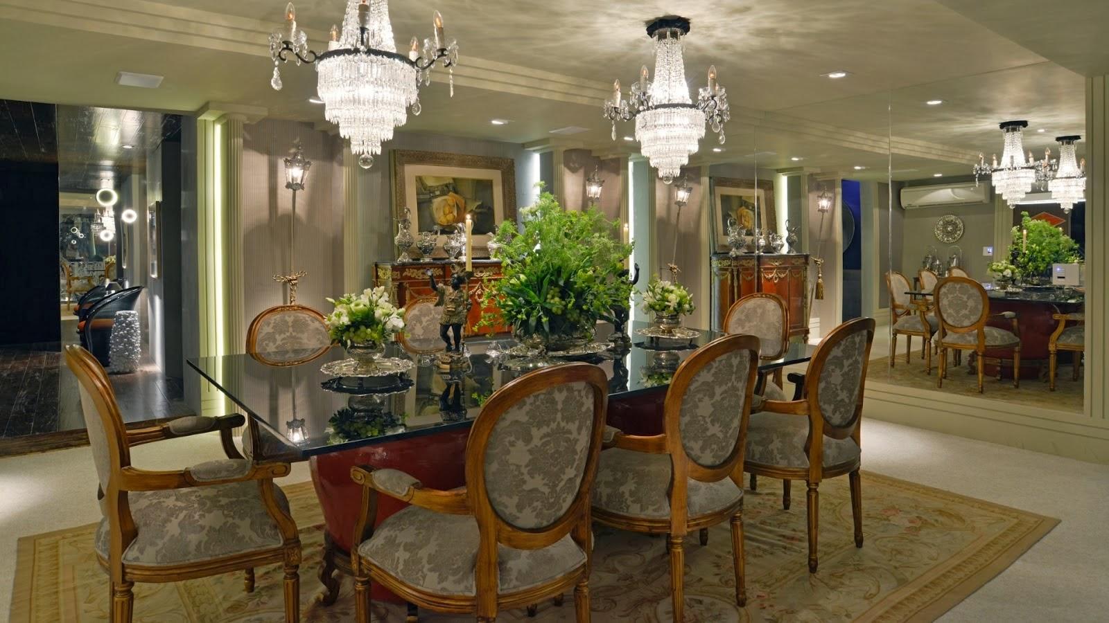 Salas de jantar 50 modelos maravilhosos e dicas de como decorar  #4A6021 1600x900