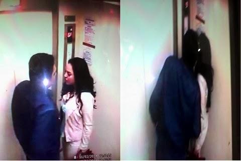 foto mirip farhat abbas cium regina di lift