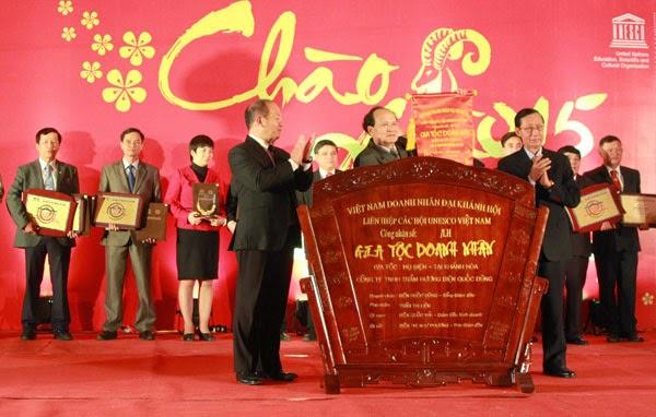 """HCATV nhận giải thưởng """"Nhà quản lý giỏi"""""""