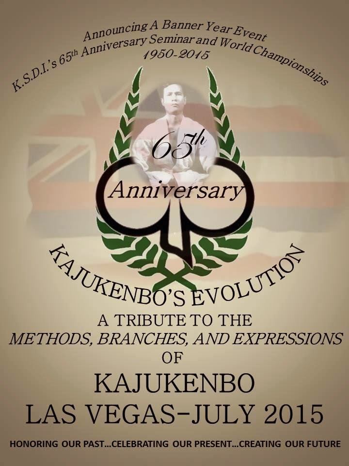 65TH ANNIVERSARY - KAJUKENBO´S EVOLUTION - 2015
