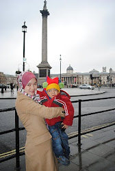 LONDON ~ Trafalgar Square~Jan'11