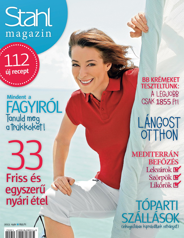 My 12 recipes and photos in a Hungarian magazine