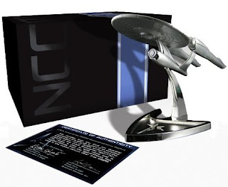 Star Trek Blu-ray Boxed Set with Model