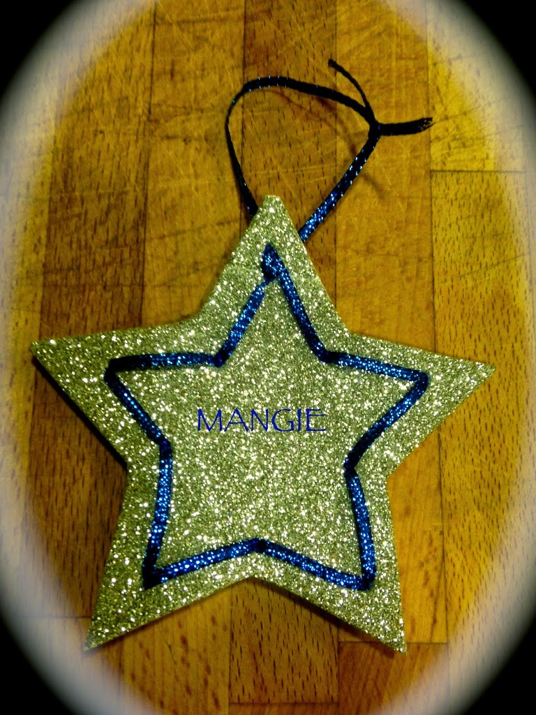 Estrella plateada