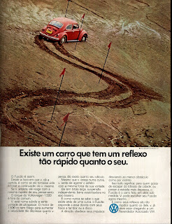 propaganda Volkswagen 1500 - Fuscão - 1973, brazilian advertising cars in the 70s; os anos 70; história da década de 70; Brazil in the 70s; propaganda carros anos 70; Oswaldo Hernandez;