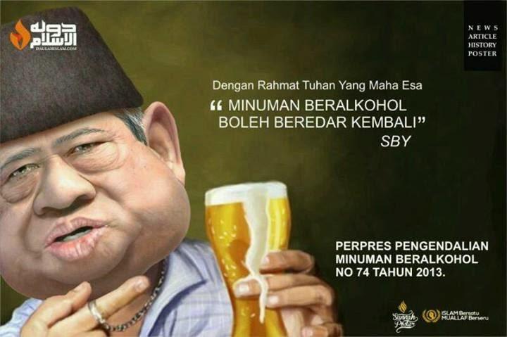 SBY Legalkan Miras Broo