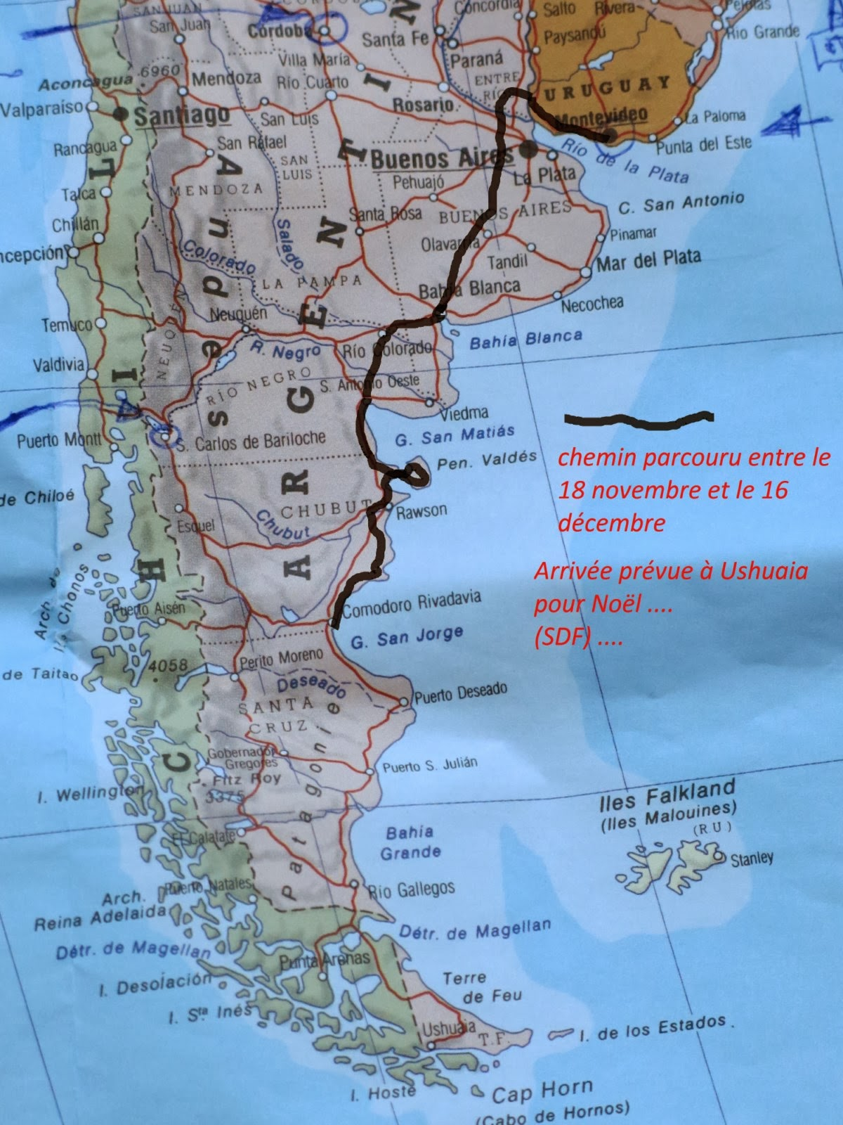 sans destination fixe  l u0026 39 argentine   le debut