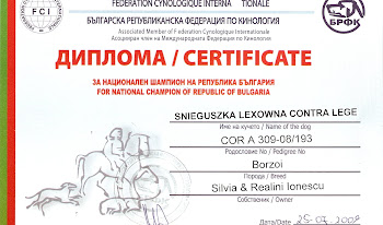 Snieguszka Lexowna Contra Lege BG Ch
