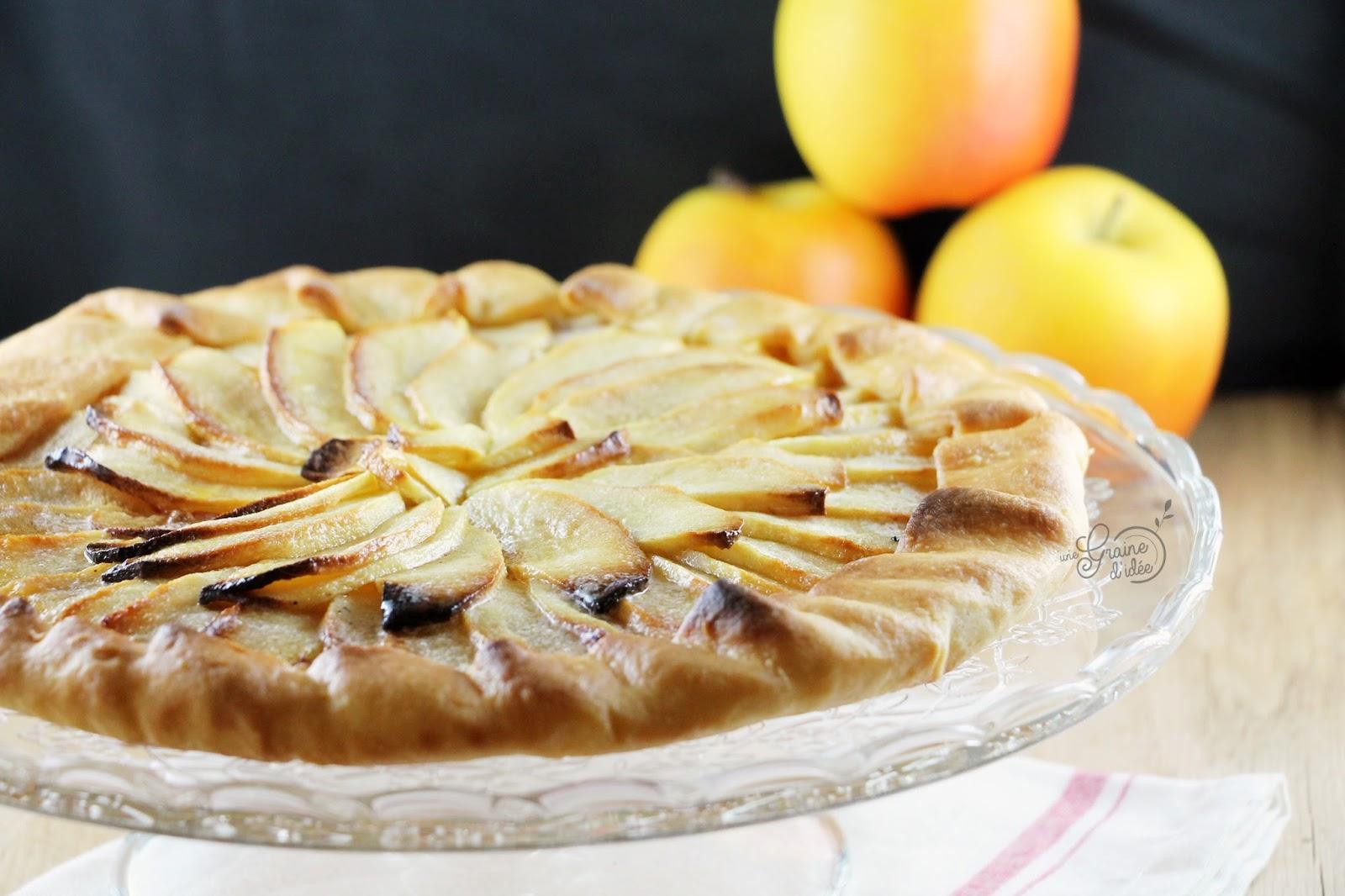 tarte aux pommes sal 233 e une graine d id 233 e