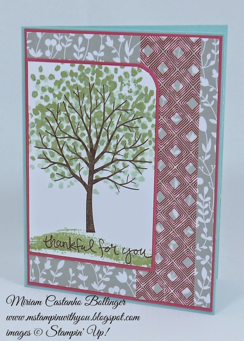 Miriam Castanho Bollinger, #mstampinwithyou, stampin up, demonstrator, fusion, something borrowed DSP, sheltering tree stamp set, beach house washi tape, su