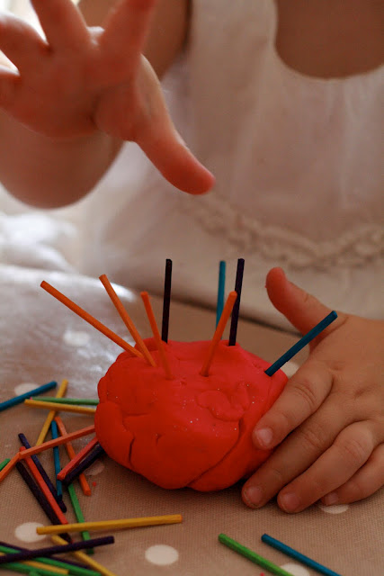 The benefits of playing with play dough the imagination tree for Playdough fine motor skills
