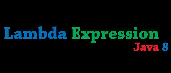 Lambda Expression Java 8