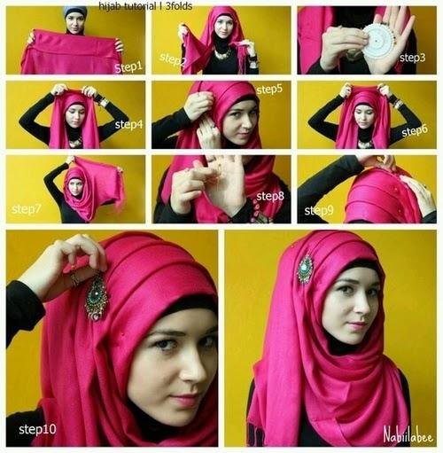 Model 1. Tips Hijab Chiffon Modern Terbaru untuk Pesta image