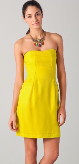 Trendsfor 2014: Neon Yellow Cocktail Dresses | Neon Yellow ...