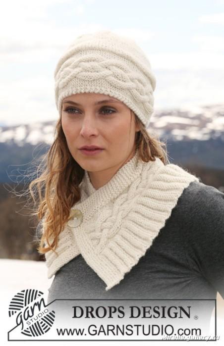 вязание спицами шапки женские 2012.