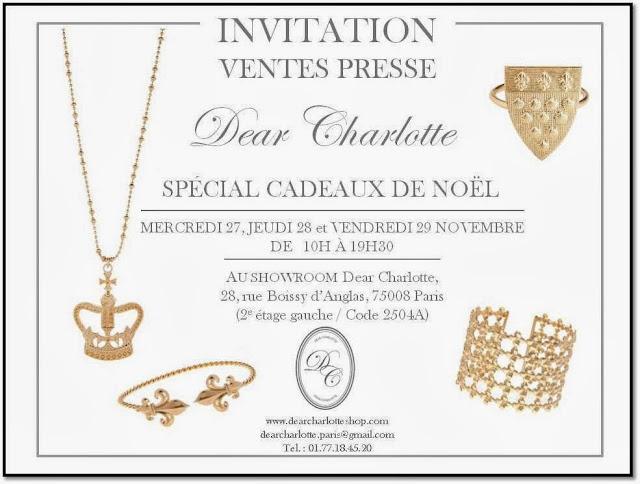 Vente Privée Dear Charlotte Noel Paris