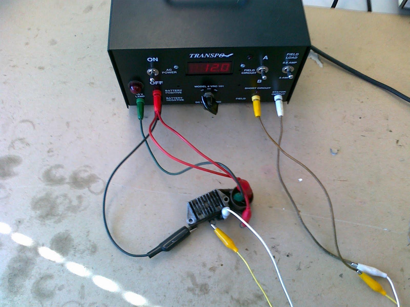 Voltage Regulator Tester : Kit autotronic alternator