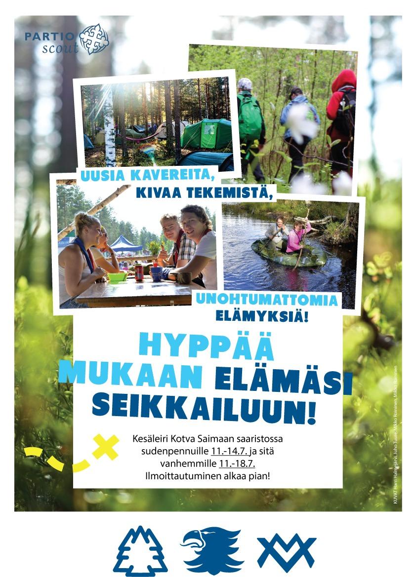 Kesäleiri Kotva 2019
