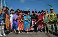 Gran morenada callejera  carnaval por la tierra 2011