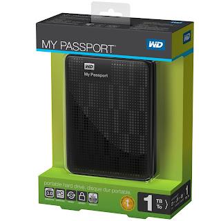 WD My Passport Wireless Cakera Storan Awan Mudah Alih Daripada Western Digital