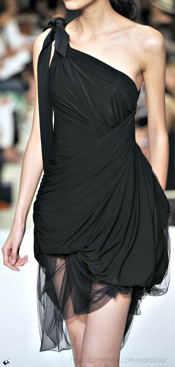 Stunning One Black Dress, UK Fashion
