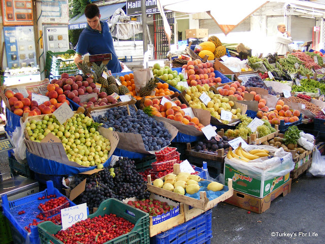 Fruit At Alsancak Market, Izmir