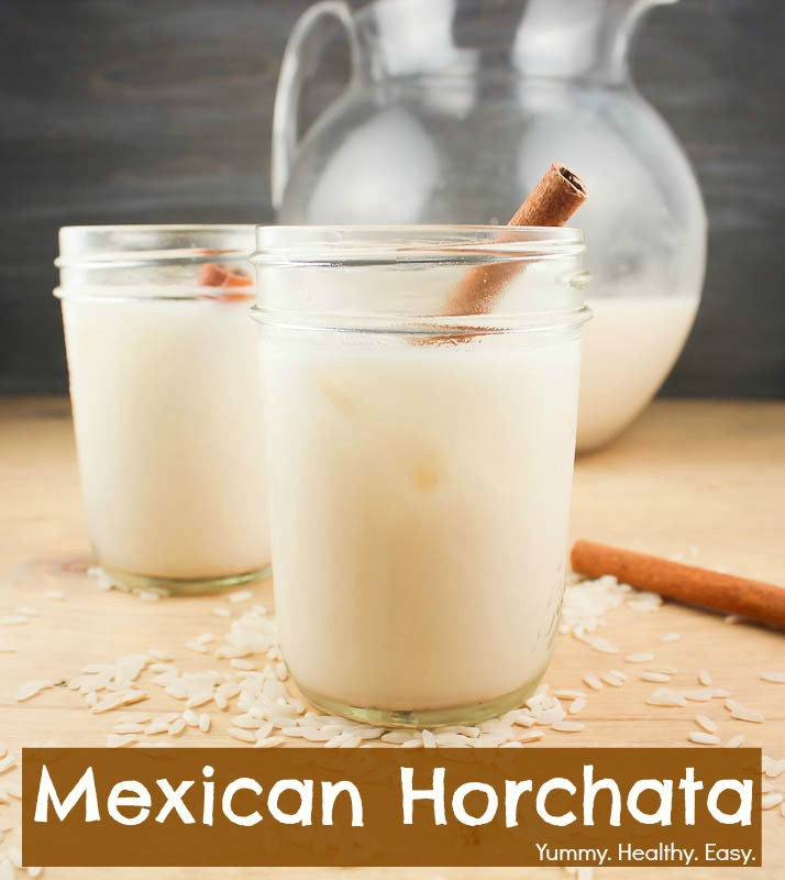 Mexican Horchata ~ Delicious Rice & Cinnamon Drink - Yummy ...