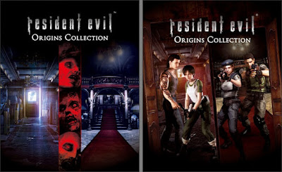 Resident Evil Origins Collection (cover europea e USA)
