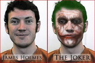 James Holmes alias The Joker