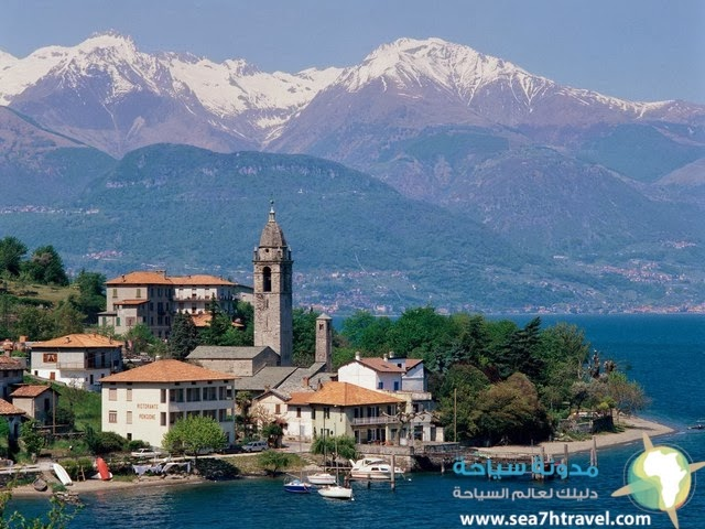 بحيرات إيطالية,إيطاليا بلد السحر,معلومات عن كومو الايطاليه, سياحه ايطاليا,بحيرة كومو,