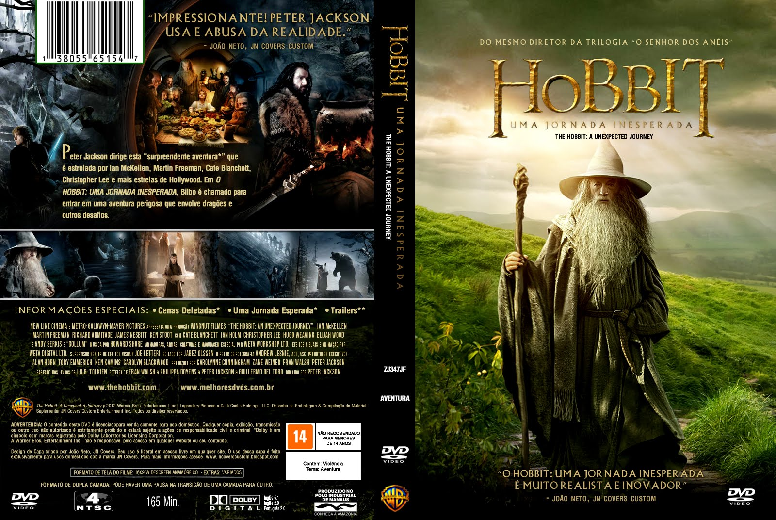 O Hobbit: Uma Jornada Inesperada (The Hobbit) Torrent - Dual Áudio 3D