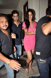 Katrina Kaif at Ranbir kapoor's birthday bash