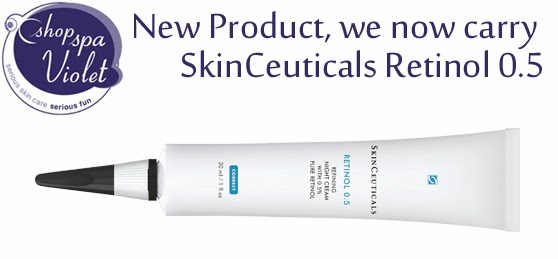 SkinCeuticals Retinol .5 allows you to get used to the night cream without the dry aggrevation.
