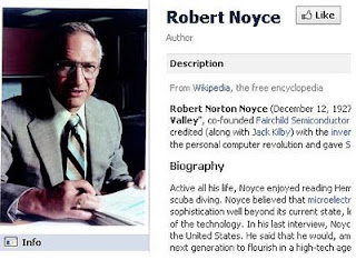 Robert Noyce facebook