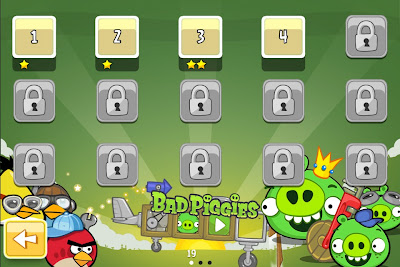 Game Bad Piggies 1.3.0 Choose mission