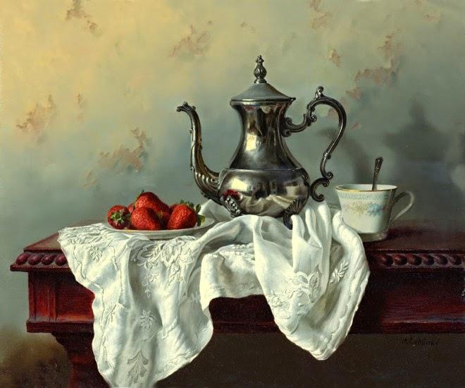 Oil Painting by ALEXEI ANTONOV