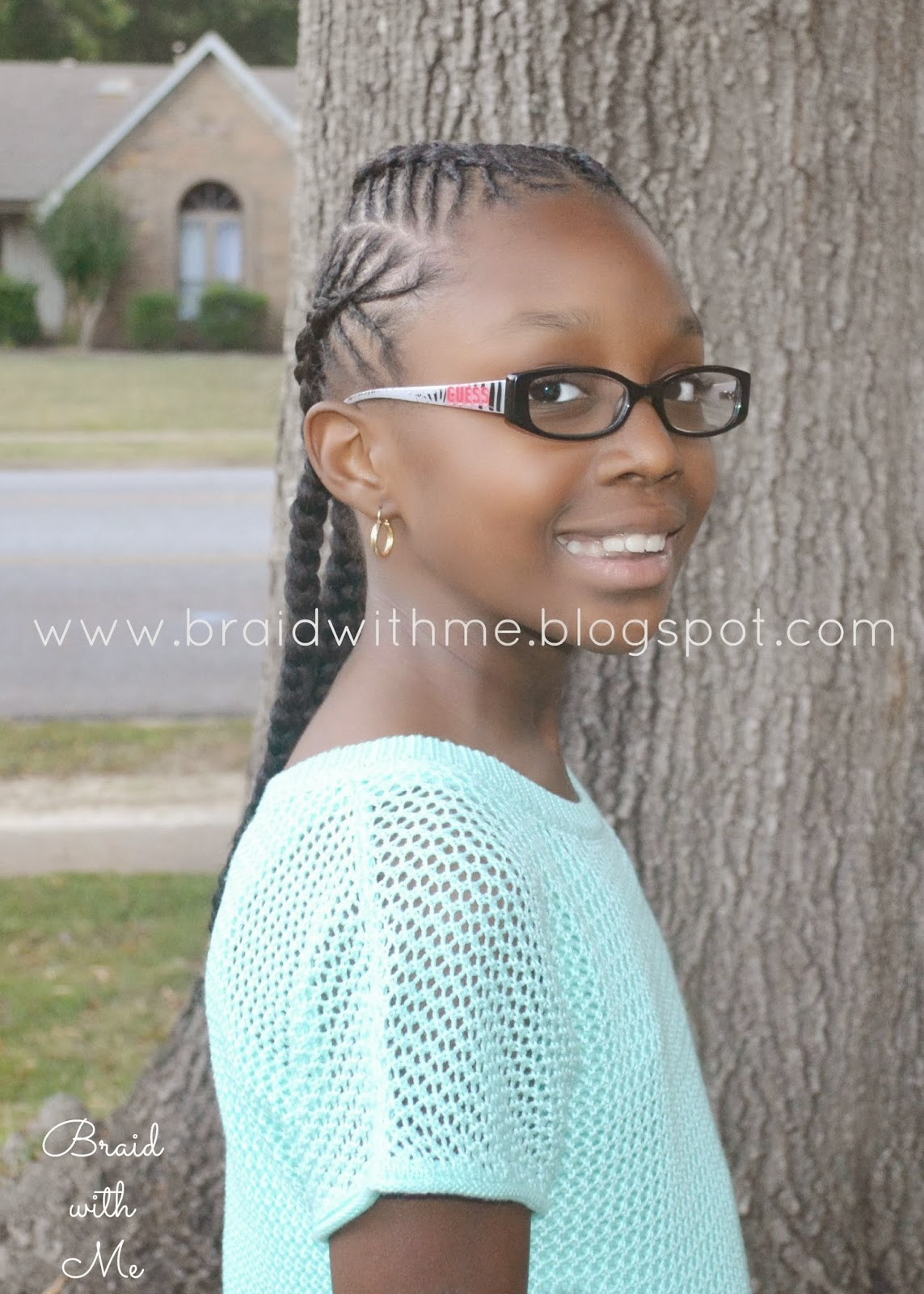 Beads Braids And Beyond Natural Hairstyle For Kids Fish Bone