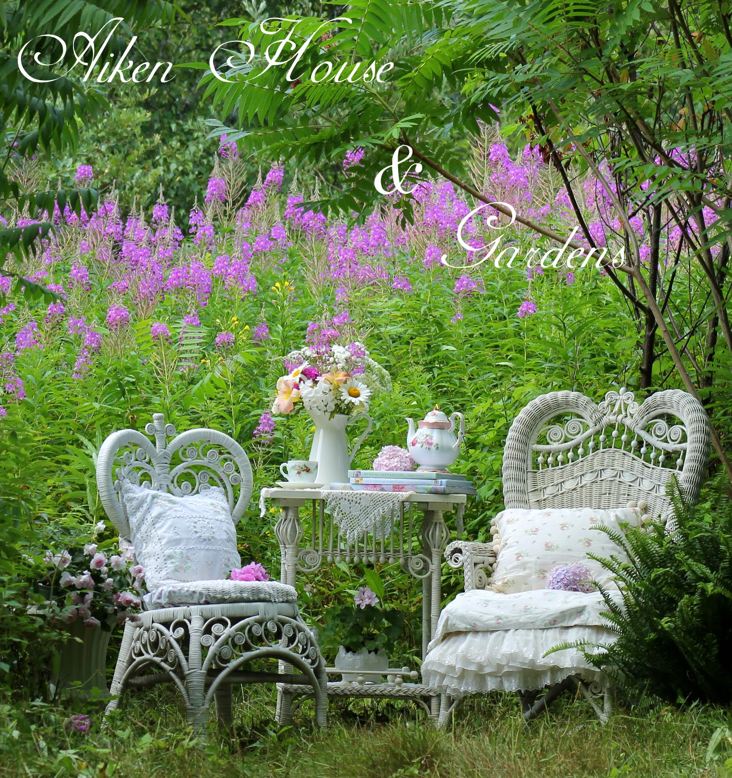 Home improvement ideas victorian garden tea for Victorian garden designs