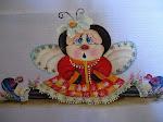 Joaninha(pintura em guardanapo)