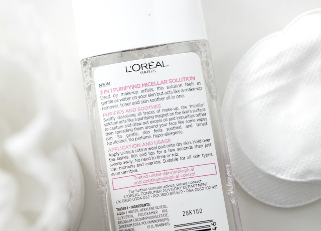 Loreal Skin Perfection Micellar Solution Review, Micellar Water, Bioderma Dupe, Loreal Micellar Water, Caudalie Cleansing Water,