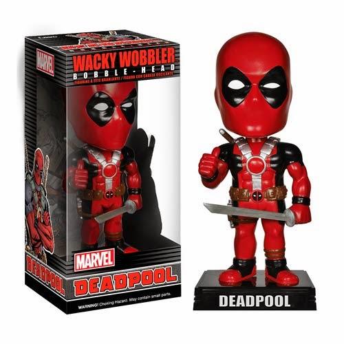 Deadpool Wacky Wobbler Marvel Bobble Head by Funko