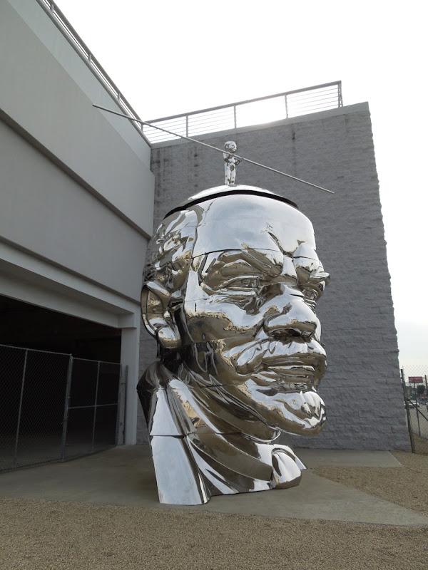 Miss Mao Top of Lenin Head sculpture