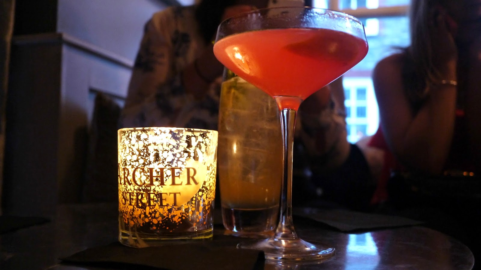 Archer Street Soho Cosmopolitan cocktail