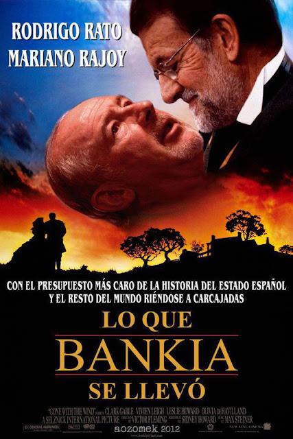 Rato y Rajoy en la película de la desverguenza. Abuelohara.