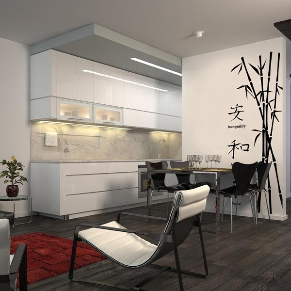 Papel pintado vinilo decorativo bamb zen - Papel pintado vinilo ...